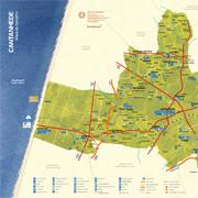 mapa do concelho de cantanhede Mapas do Concelho : Município de Cantanhede mapa do concelho de cantanhede