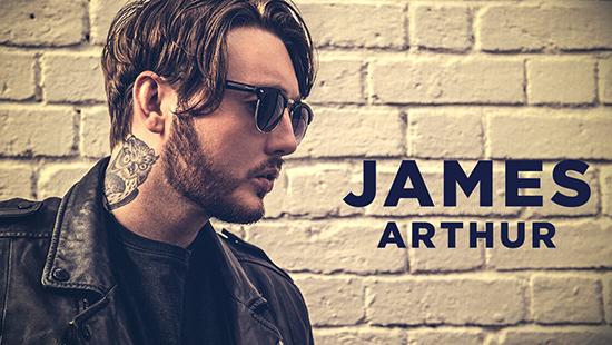 James Arthur na Expofacic